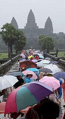 Angkor en masa