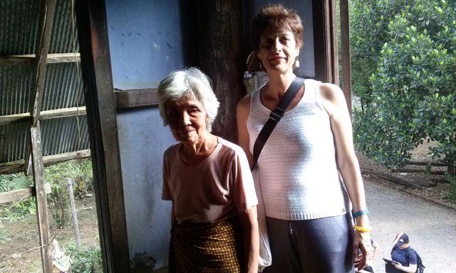 Luisa en su viaje a Camboya