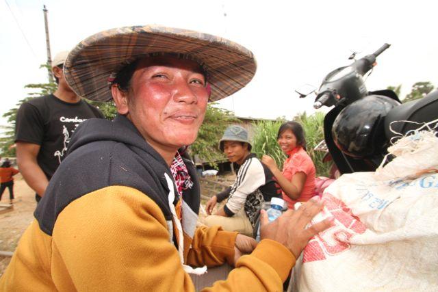 Pobreza en Camboya