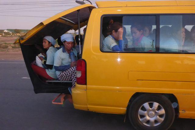 Transporte en Camboya