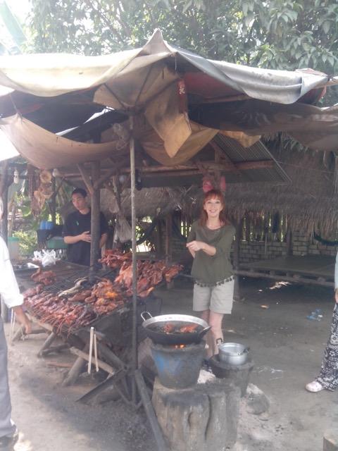 Carmen en Camboya