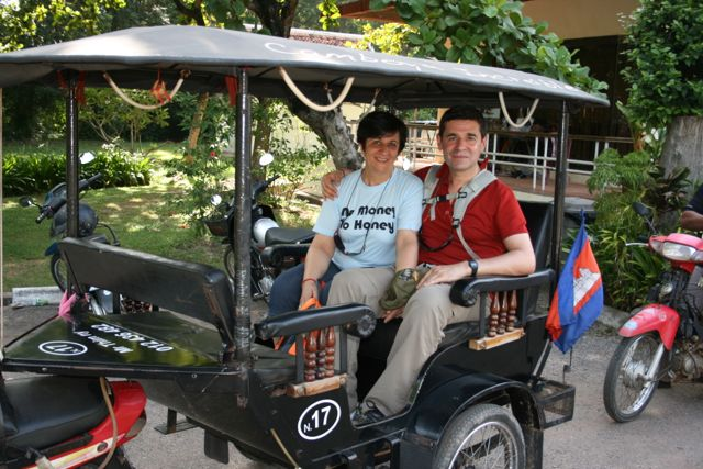 Ana Y Jose Luis en Camboya