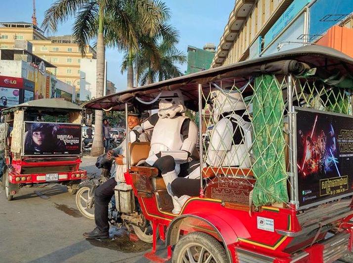 Camboya y la Guerra de las Galaxas