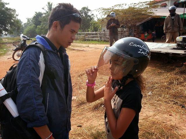 Gianna estuvo en Camboya