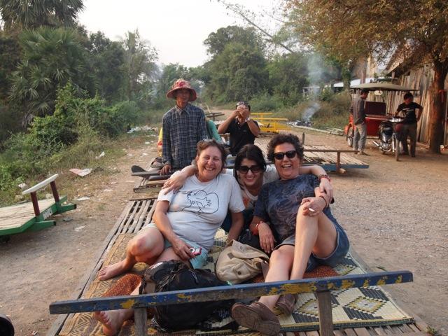 Lorena en su viaje a Camboya