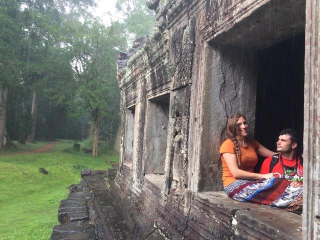 Alberto e Isabel en Camboya