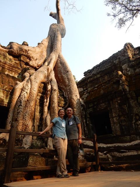 Evangelina y Quino de viaje y Camboya. Viajes exclusivos en Camboya