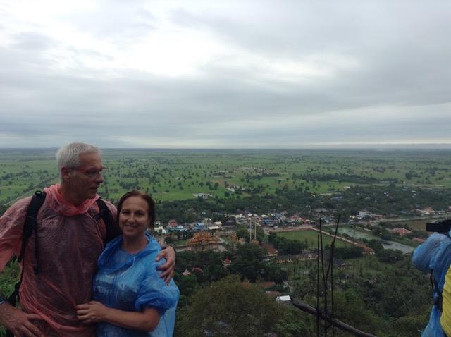 Rosa y Gabi en Camboya