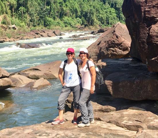 Isabel conocieron una Camboya Increíble
