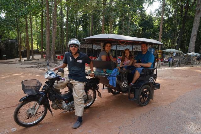 Margarita, Jose Manuel y Tania un viaje increíble a Camboya