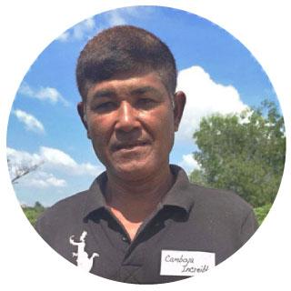 Colaborador local de Camboya Increíble