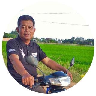 guía local en Camboya
