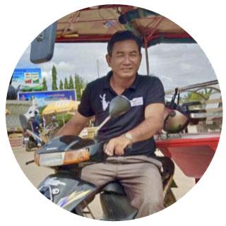 Colaborador local en Battambang
