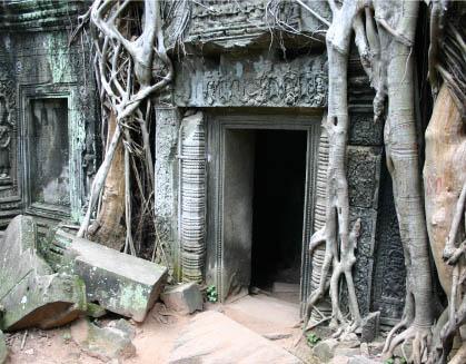 Viajar a Camboya, templo