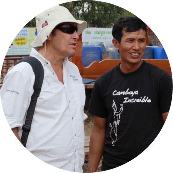 Salva, viajes sostenibles en Camboya