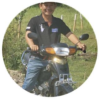 Puedes conocer Camboya desde la parte de atrás de una moto