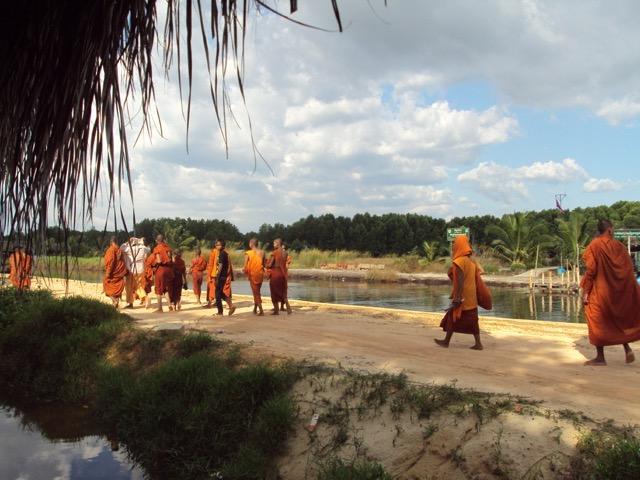 Carmen vino a Camboya