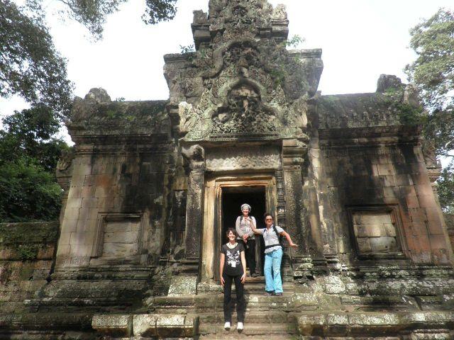 Viaje de Carmen en Camboya