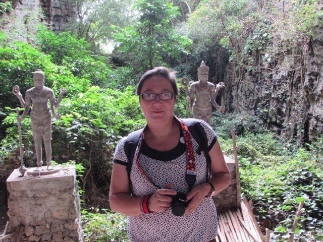 María José en Camboya
