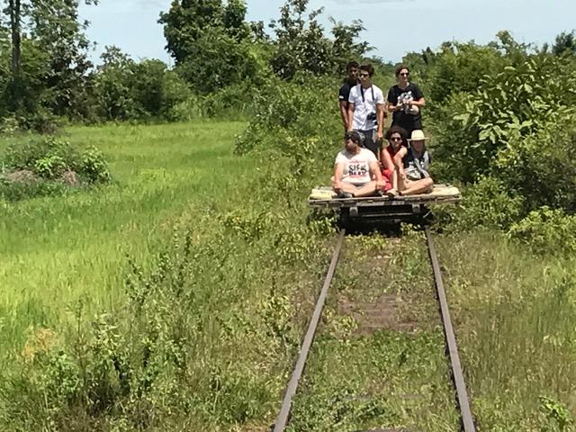 Miguel y Mercé en Camboya