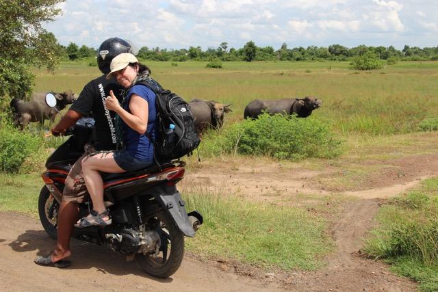 Angels en moto en camboya
