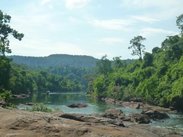 Almu y Miguel en Camboya