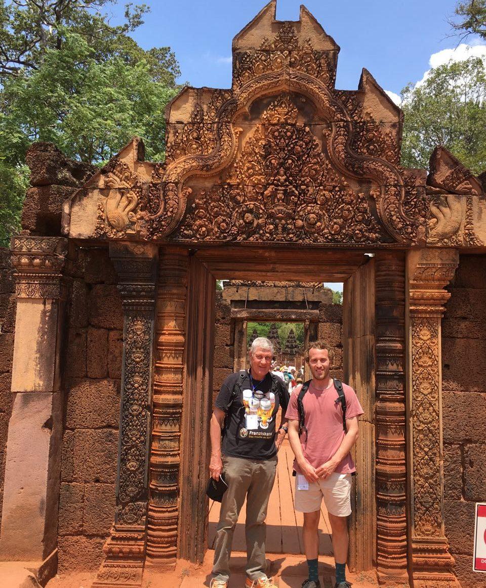 un viaje a una Camboya Increíble. Banteai Srei