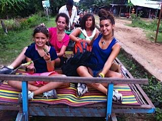 Viaje de Marta y Blanca en Camboya