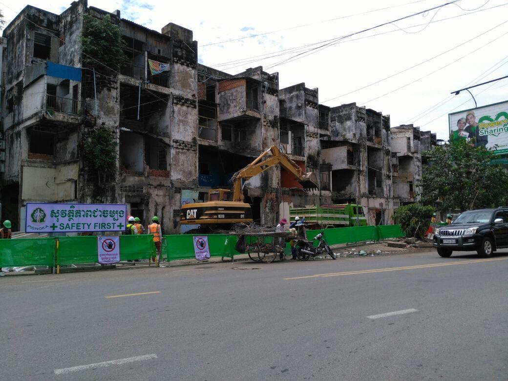 white Building, Phnom Penh, Camboya
