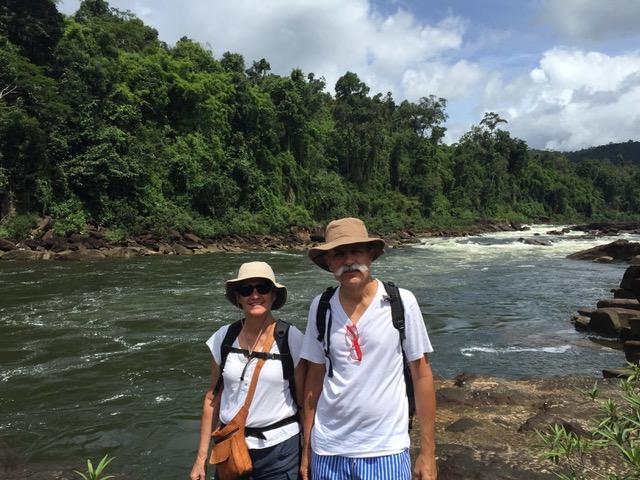 Inma y Gustavo en Camboya