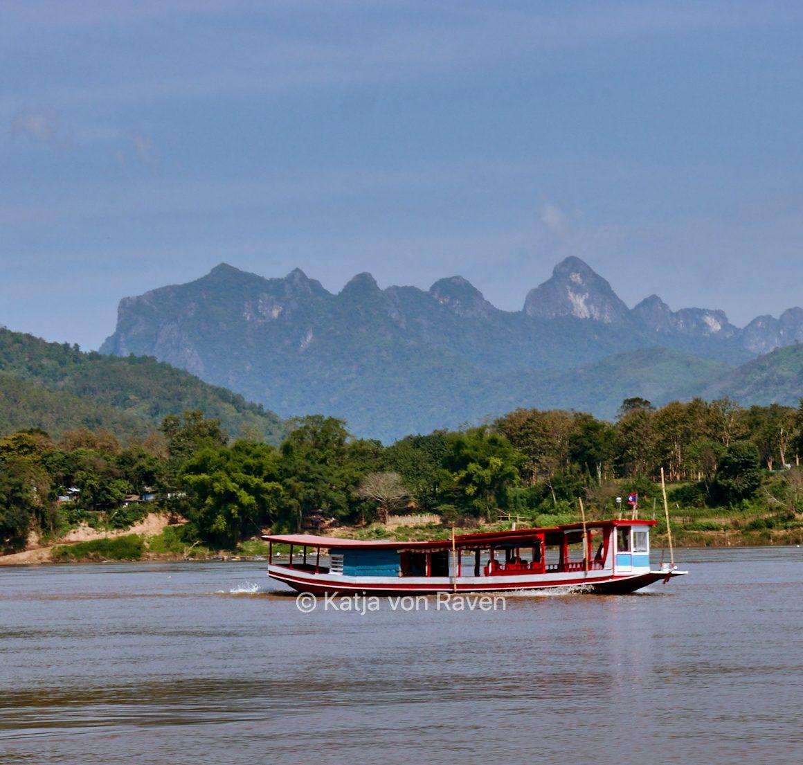 Pepe y Katja en Laos