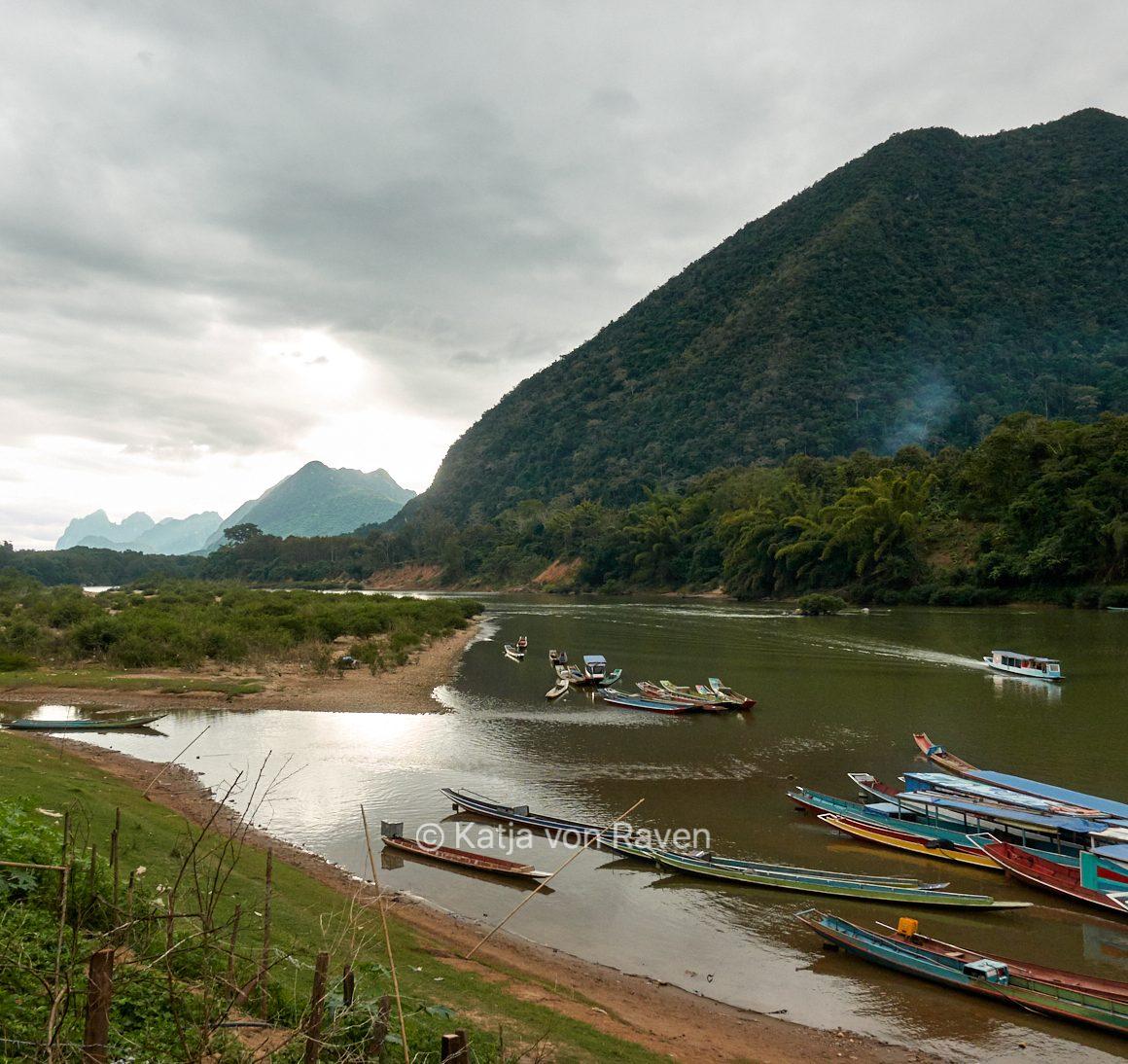río Mekong Laos