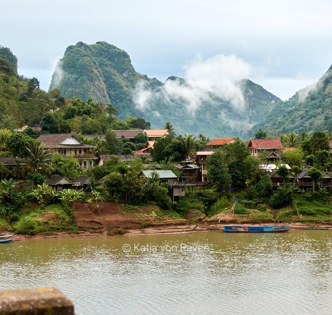 Paisaje en Laos
