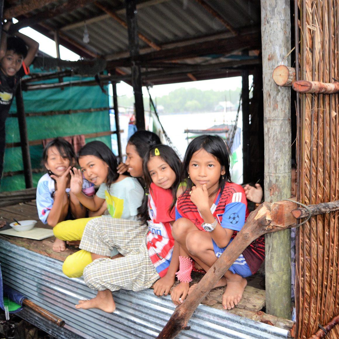 Marta Luz y Sandro en Camboya