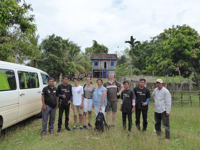 un viaje exclusivo en Camboya, el campo