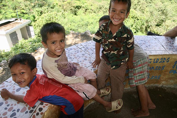 Santiago y Marta en Camboya