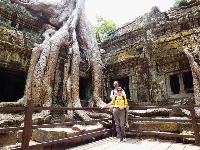 Àngels i Xavier en Camboya