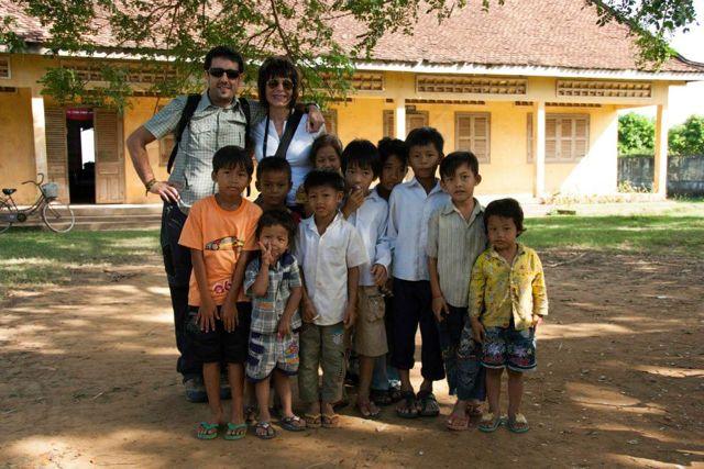 Viaje a Camboya de Antonio y Ángeles