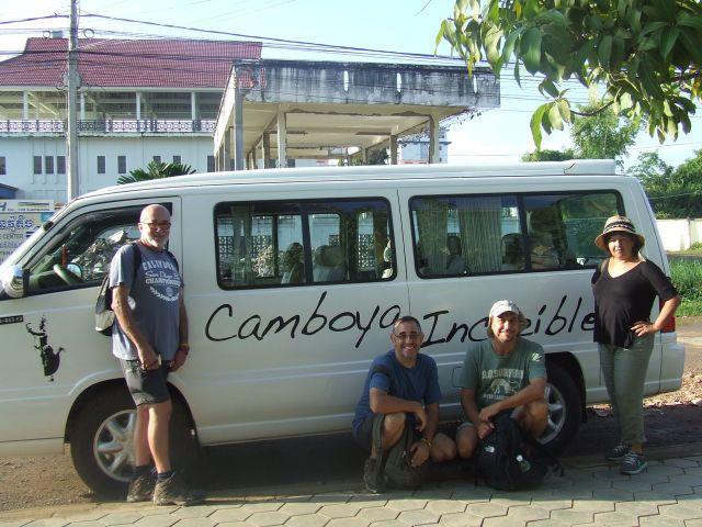 Belén y Jose en Camboya