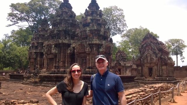 Fermín y Catalina en Camboya