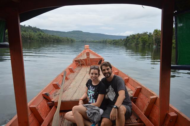 Cesar y Ana en Camboya