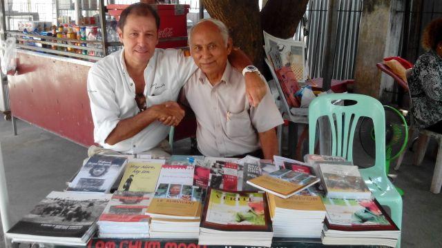 Cummey un buen amigo en Camboya