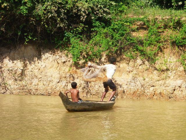 Viaje a Camboya de Miriam y su familia