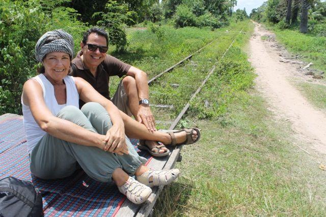 Ernest y Marien en Camboya