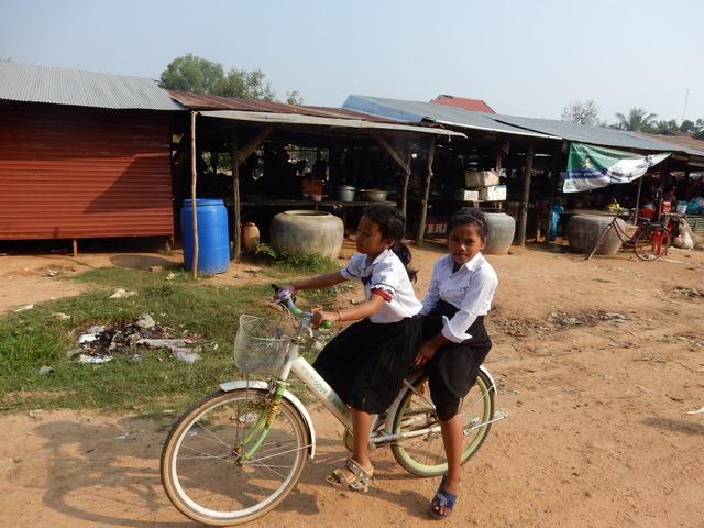 Evangelina y Quino de viaje y Camboya