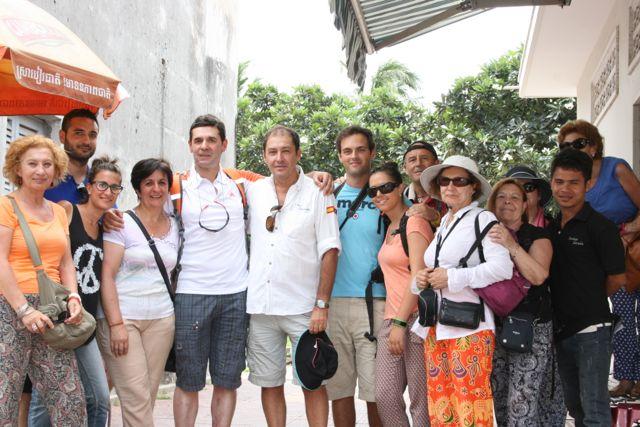 Viaje de Ana y Jose Luis en Camboya