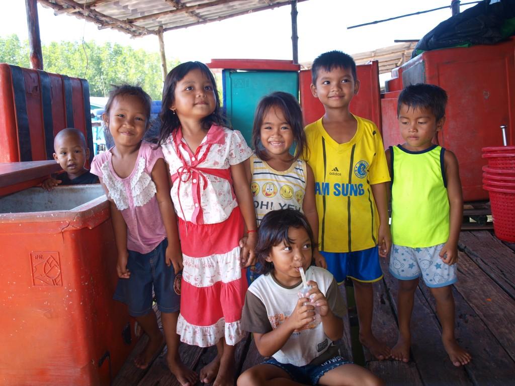 Verónica y Gil en Camboya