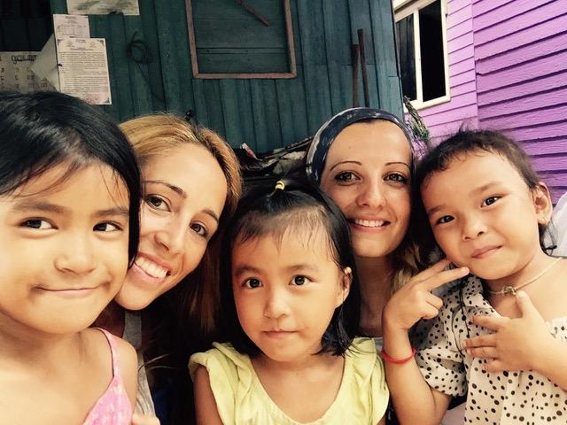 Con niños