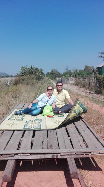 Ignacio y Olga, su viaje a Camboya