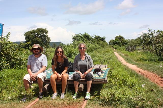 Ildefonso, Isabel y Ana se enamoraron de Camboya